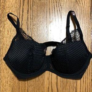 NWT Victoria's Secret Fishnet Detail Push Up Bra